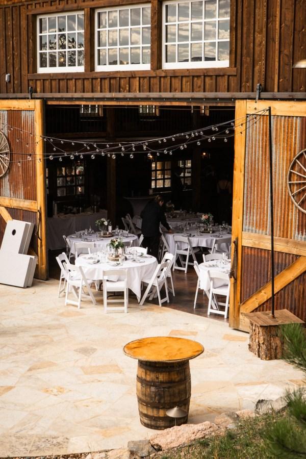 rustic mountain wedding