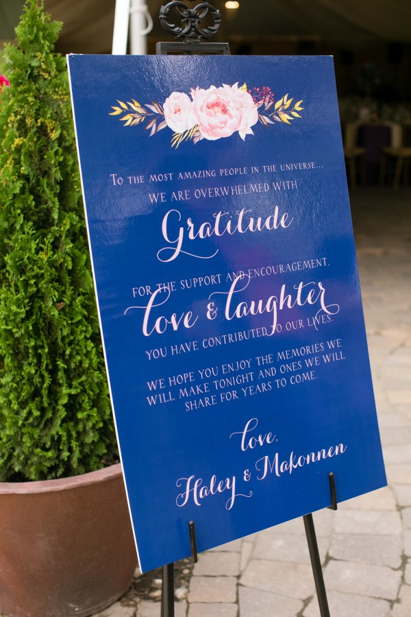 jewel-toned summer wedding