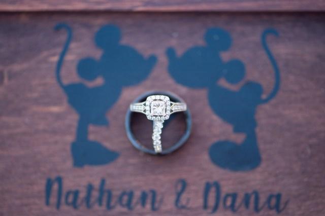 Disney-inspired wedding
