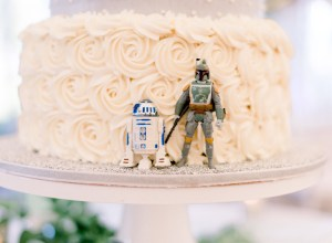 romantic Star Wars wedding