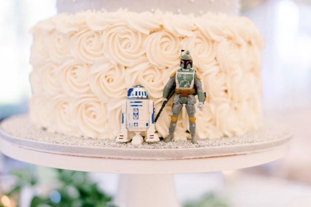 romantic Star Wars wedding