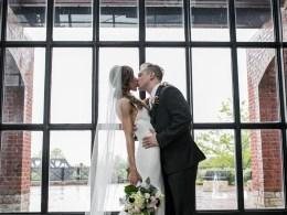 intimate spring wedding