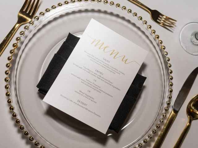 black tie Florida wedding