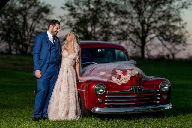 Kentucky winery wedding