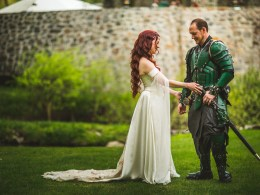 renaissance fantasy wedding