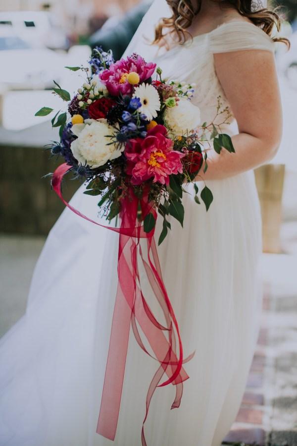 whimsical garden wedding