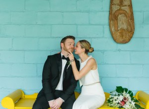 tropical outdoor wedding
