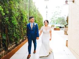 modern DIY wedding
