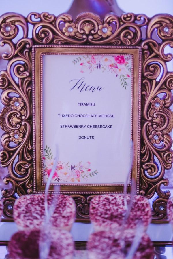 elegant white wedding