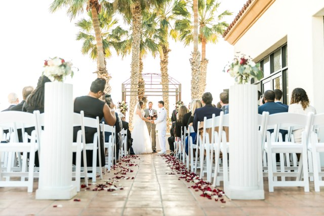 classic resort wedding