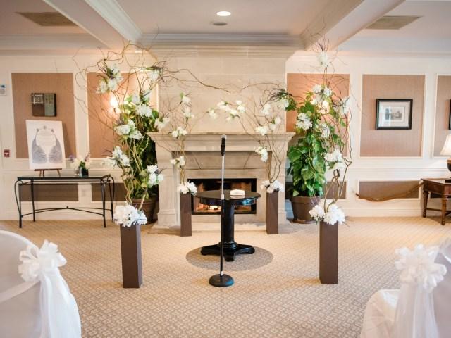 Palm Beach brunch wedding
