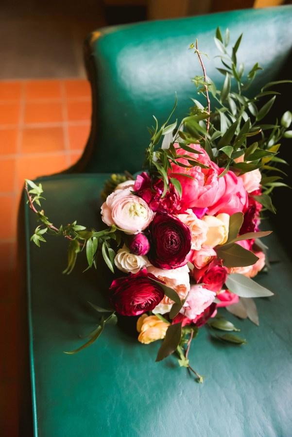 modern colorful wedding