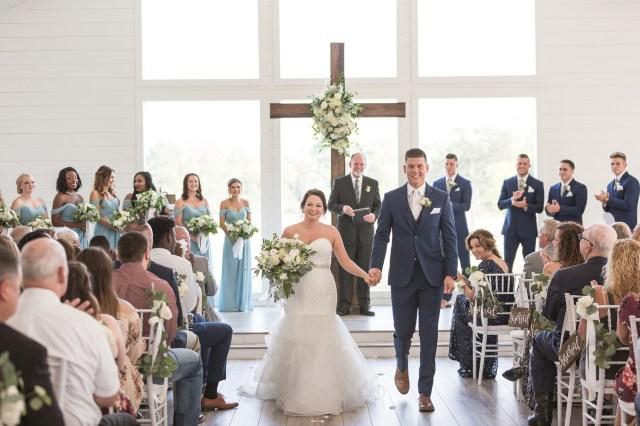 summer farmhouse wedding