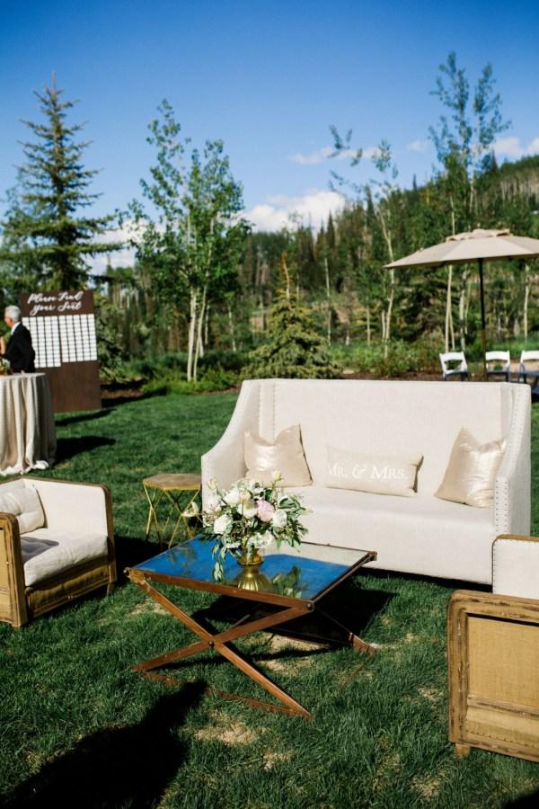 outdoor Utah wedding