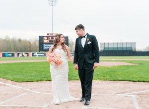 baseball stadium wedding