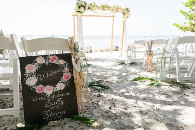 luxury beach wedding