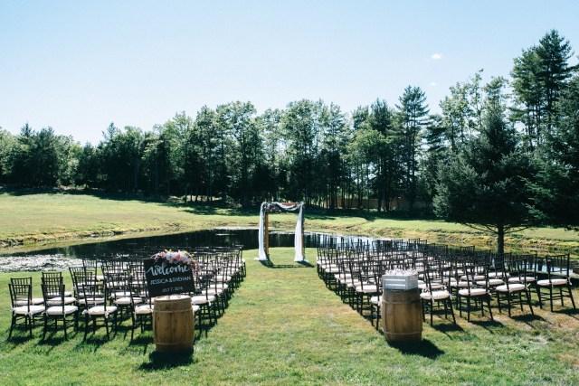 whimsical barn wedding