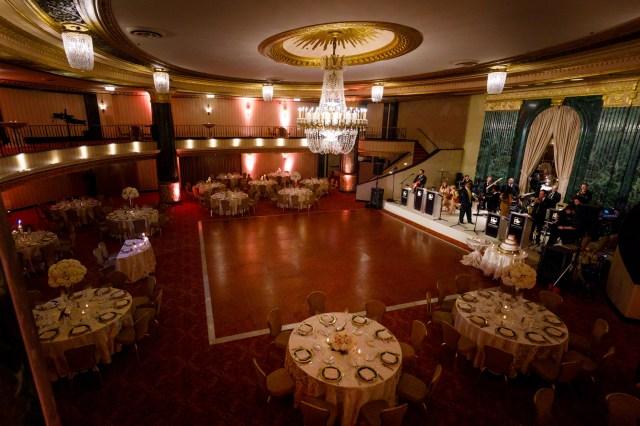 winter hotel wedding
