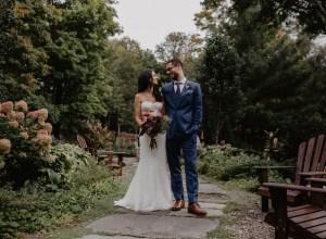 romantic mountain wedding