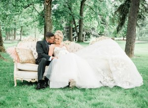 fairytale vintage wedding