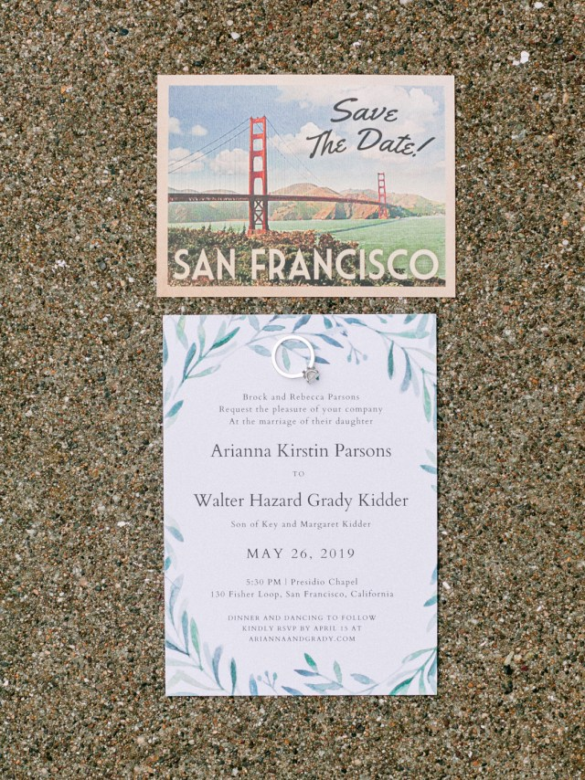 green San Francisco wedding