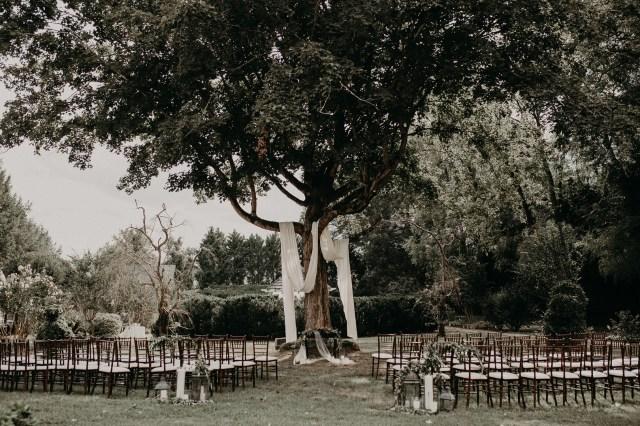 DIY mansion wedding