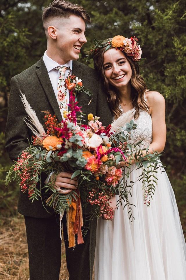 Haiden and Joshua's Bright October Wedding