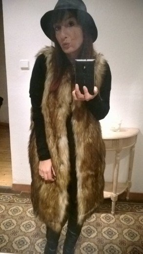 Asos Street Style Fellweste Fake Fur