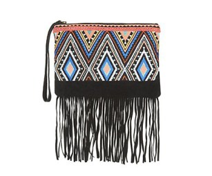 http://www.newlook.com/eu/shop/womens/bags-and-purses/black-suede-aztec-fringe-clutch_308741409?isRecent=true