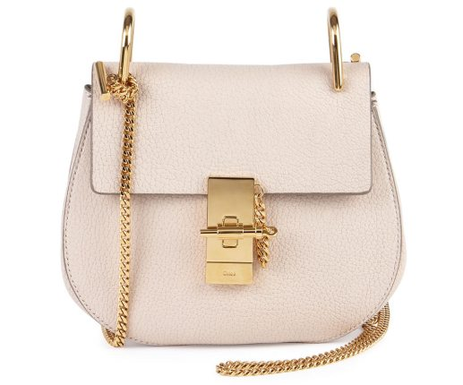 Chloe-Drew-Small-Chain-Shoulder-Bag-in-Off-White