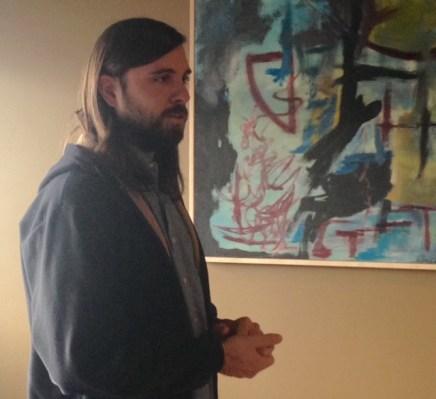 Scott at March CC