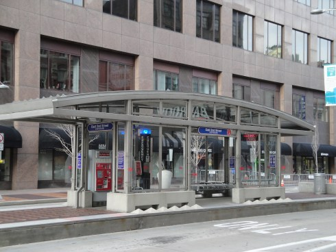Cleveland's BRT stations provide a good model for Omaha to consider.
