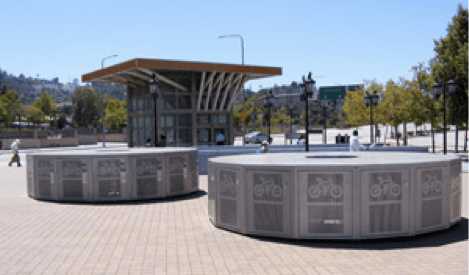 Metro LA bike lockers