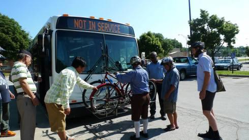 REC bus training