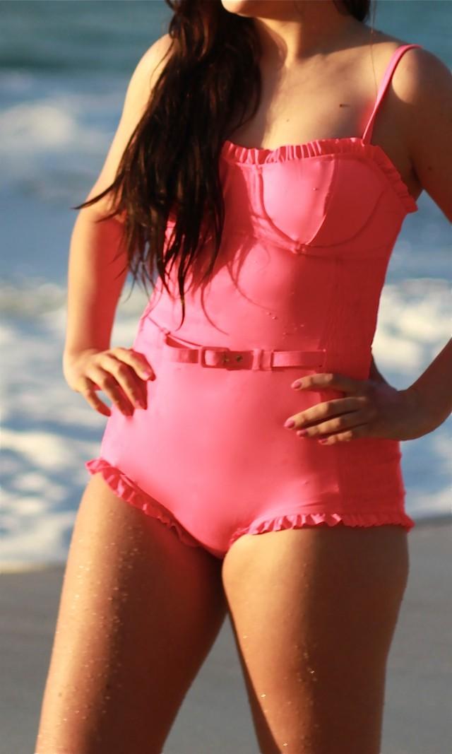 Modest Swimsuit Wet Swimwear 8
