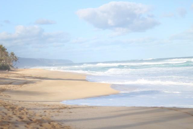 Waimea Bay Oahu Hawaii Sunset Beach Kimono