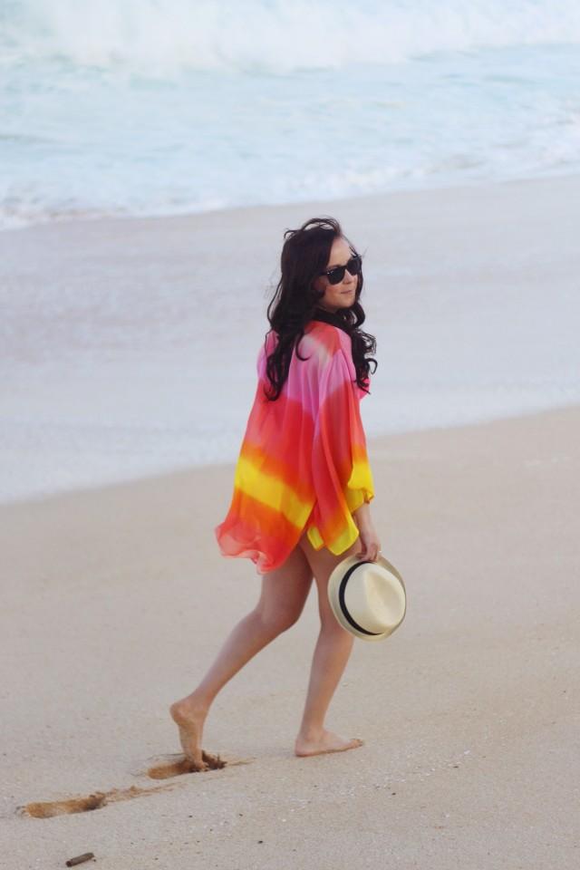 Sunset Beach Kimono Outfit 20