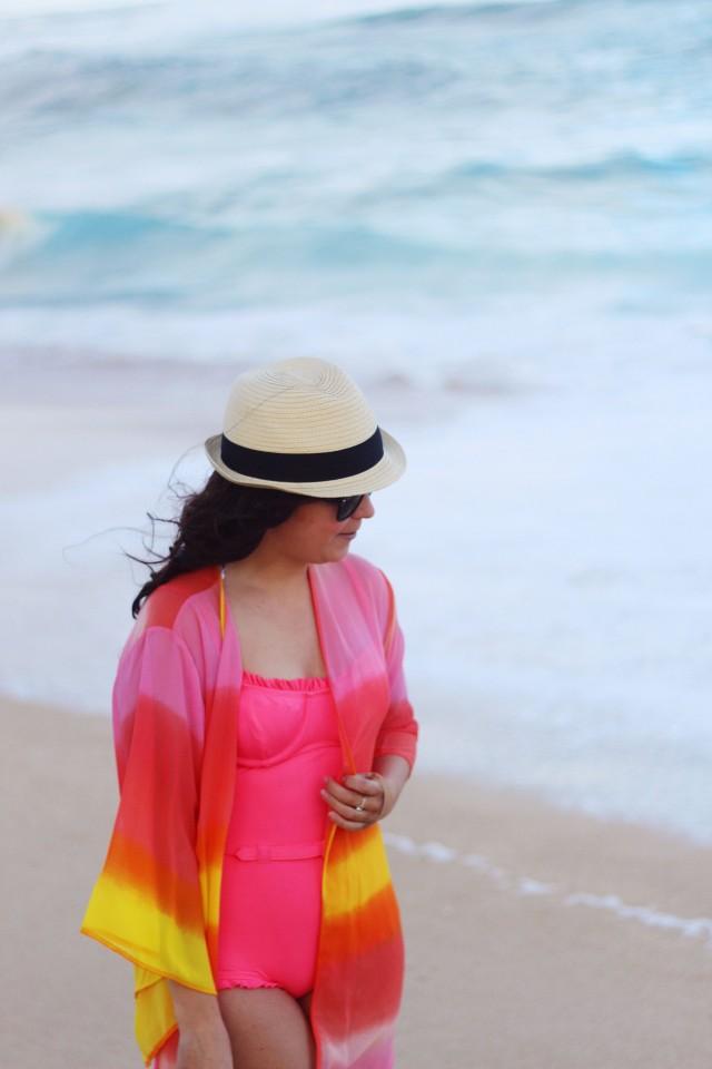Sunset Beach Kimono Outfit 21