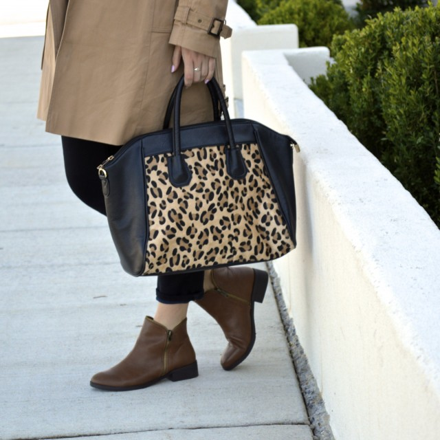 Ah! This leopard print purse is too perfect!