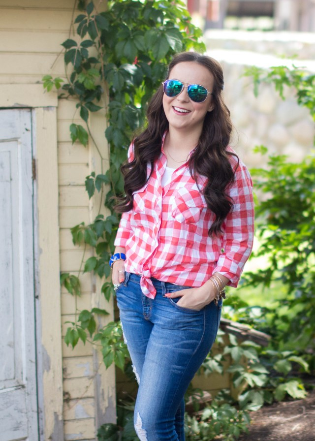 Red Gingham Top (14 of 20)