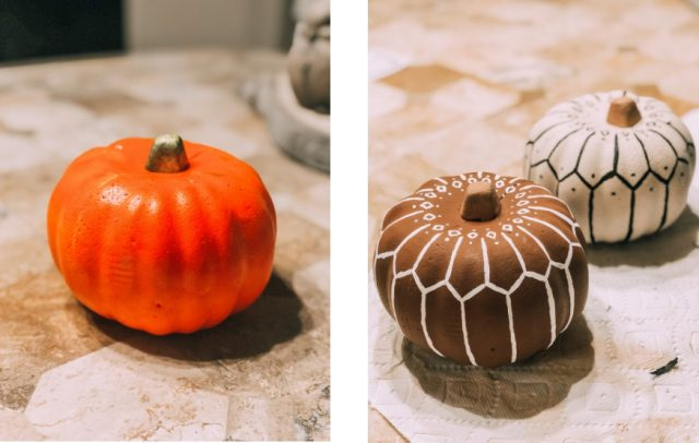 DIY Dollar Store Bohemian Pumpkin Tutorial