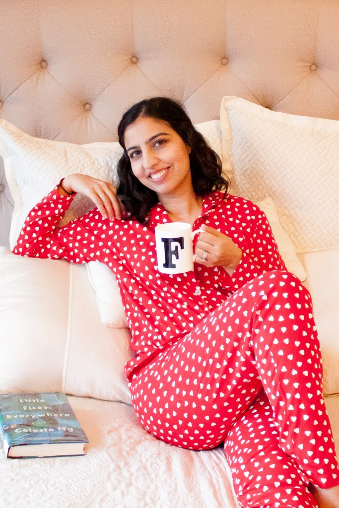 this muslim celebrates valentine's day red pajamas