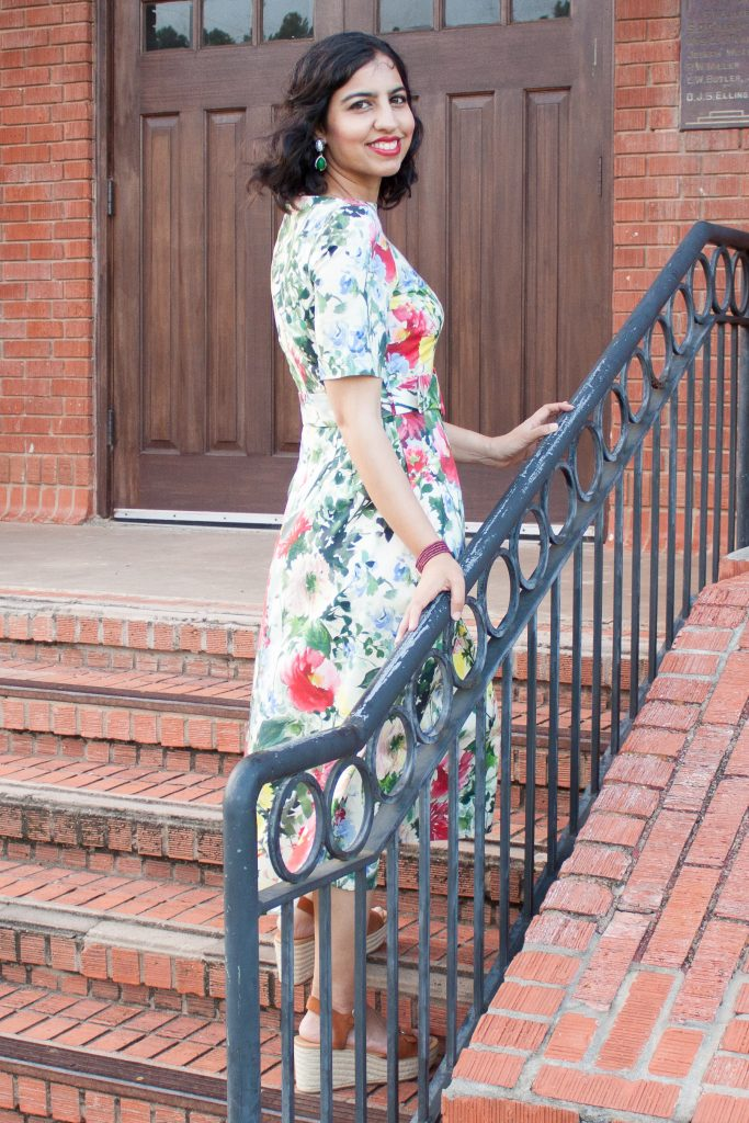 Zara summer sale 2019 floral midi dress