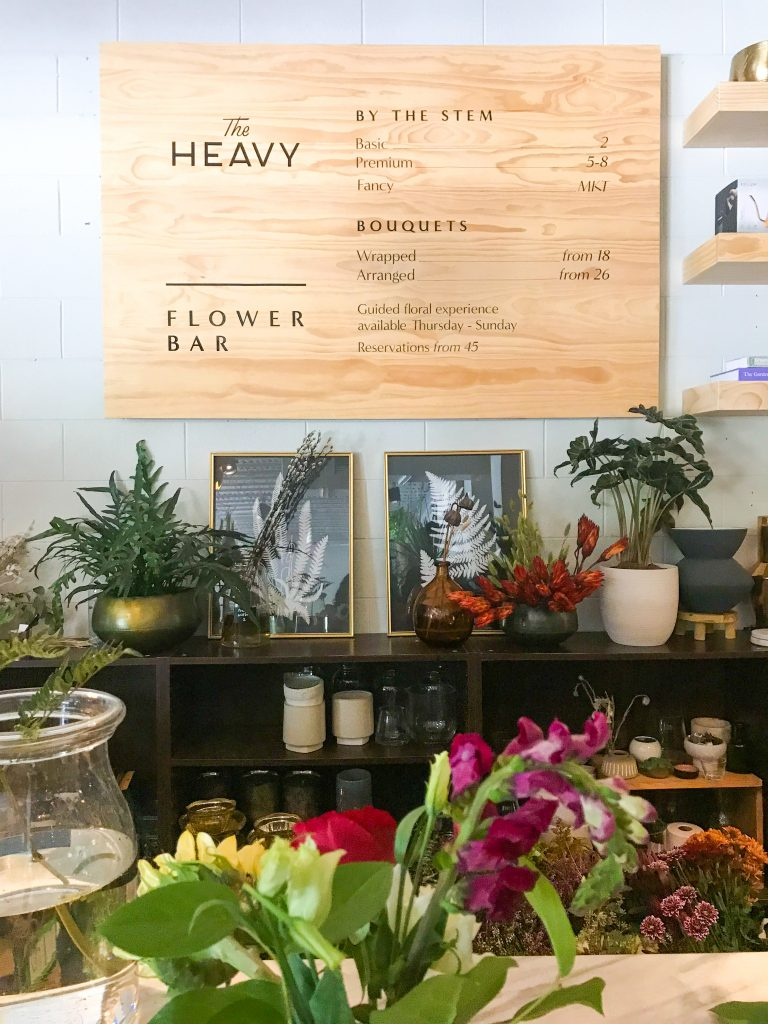 celebrate your best friend's birthday flower arranging at the heavy