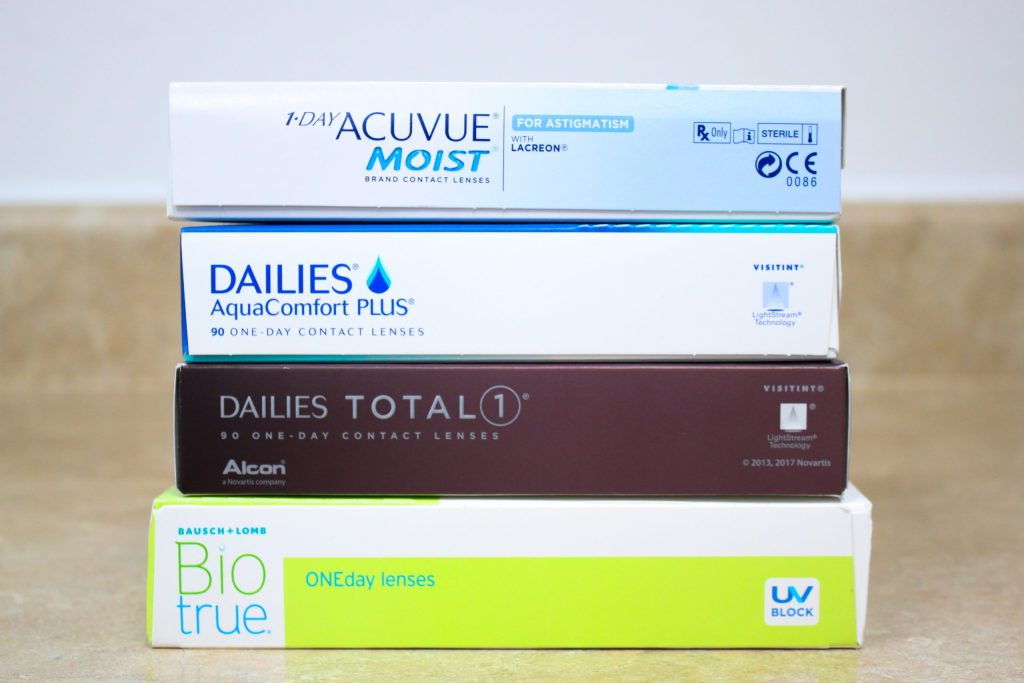 contact lenses at EZ optical variety of lenses