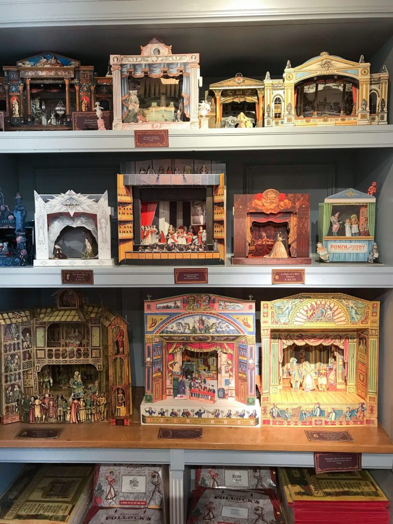 benjamin pollack's toy shop shadow boxes