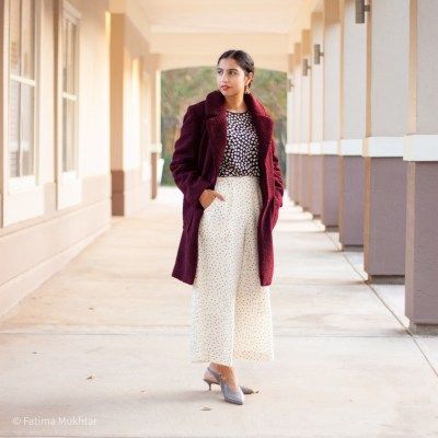 Modest Teddy Coat Outfit