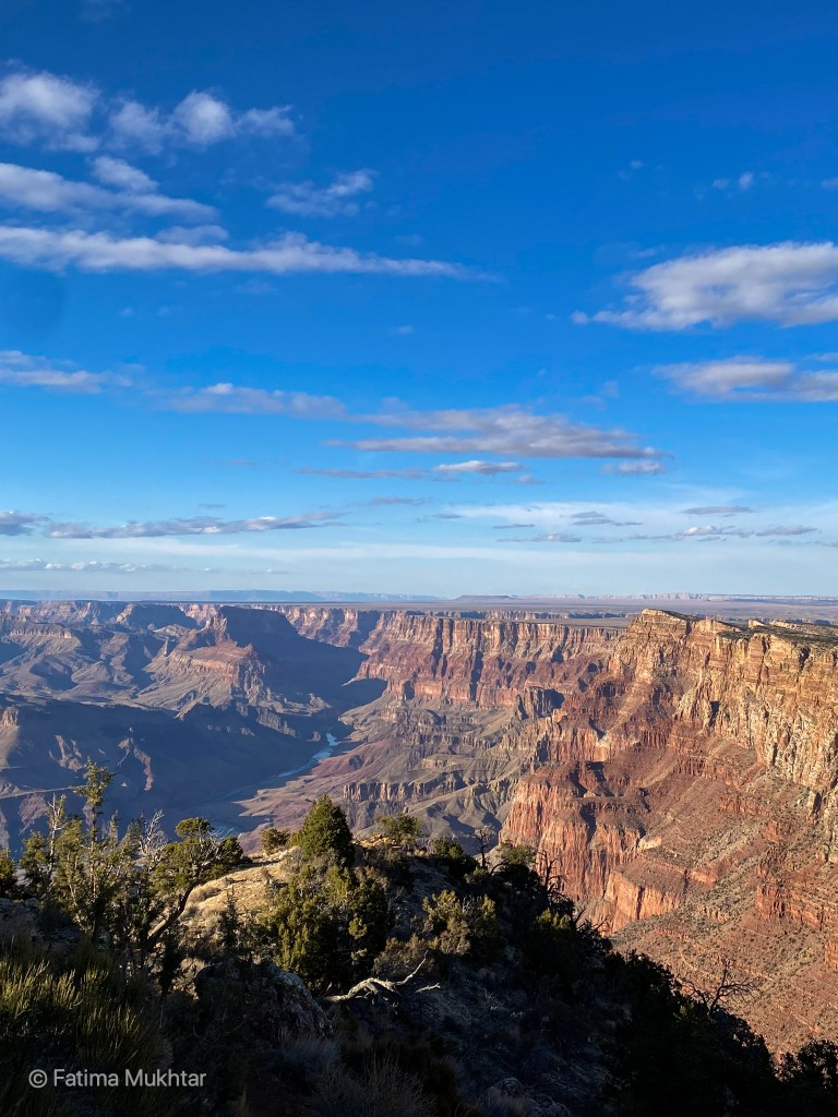 desert view point of grand canyon