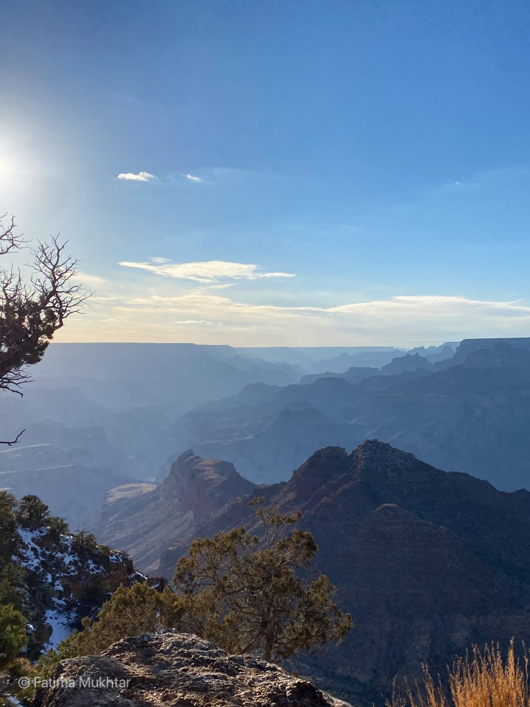 sunset views of grand canyon