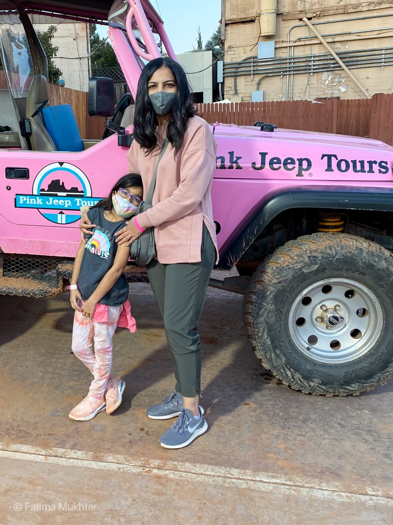 two days in Sedona Pink Jeep Tour